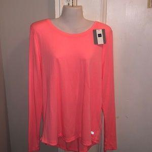 GAP Neon Pink Long Sleeved Top L